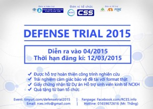 DEFENSE TRIAL