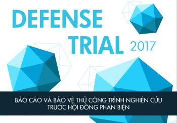 Cuộc thi DEFENSE TRIAL 2017 đã chính thức khởi động