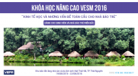 Khóa học VESM 2016 VEPR