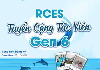 RCES tuyển Cộng tác viên Gen 6